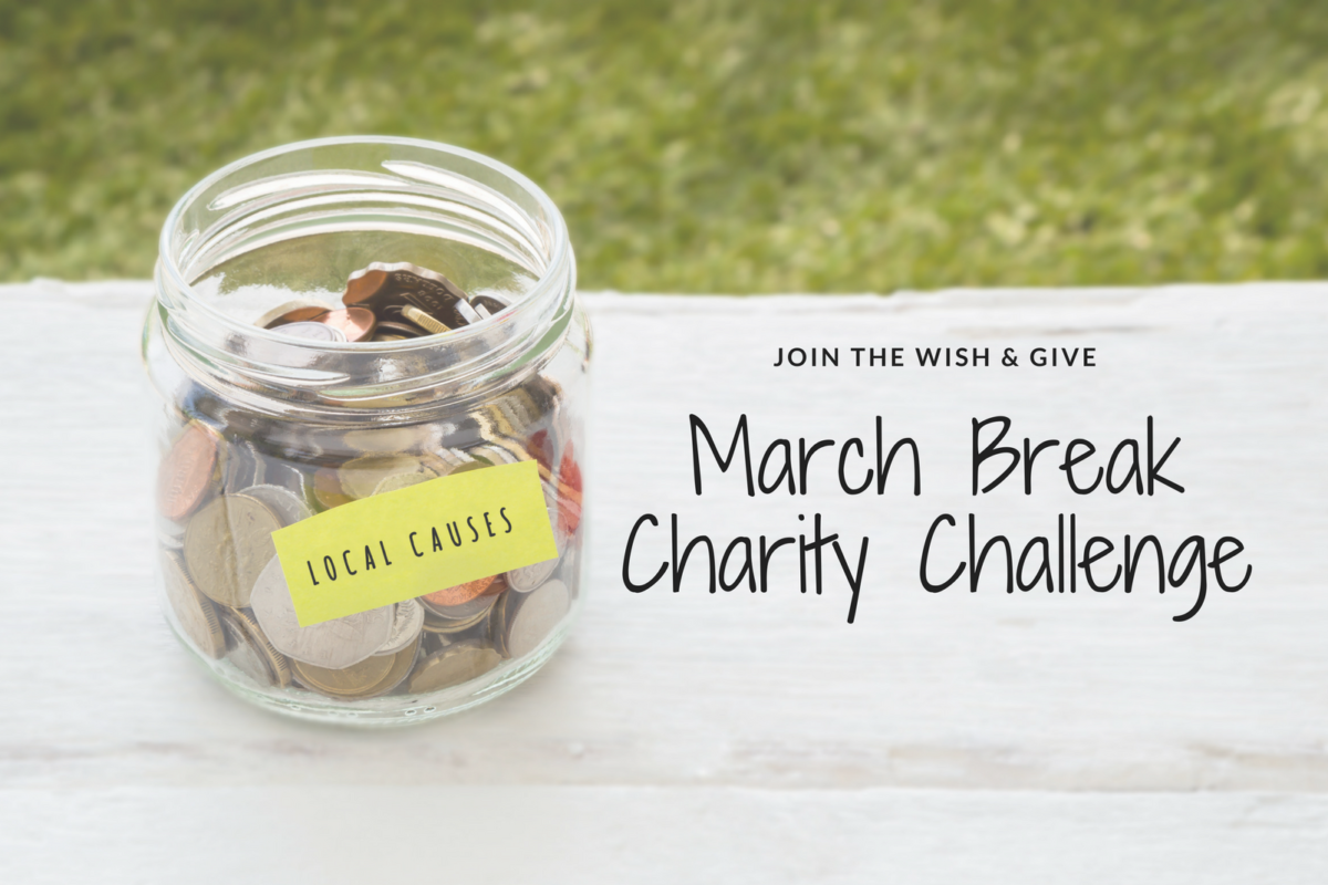 Set a Goal & Give Back This March Break