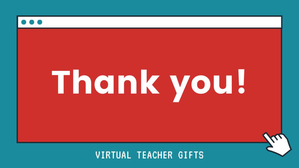 Thank you TEACHERS!!!