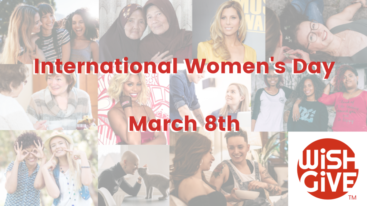 Celebrate International Women's Day by Giving Back